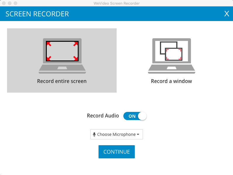 Screen Recording – WeVideo